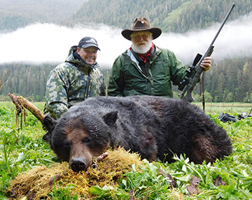 Larry Weishuhn alaska brown bear hunt