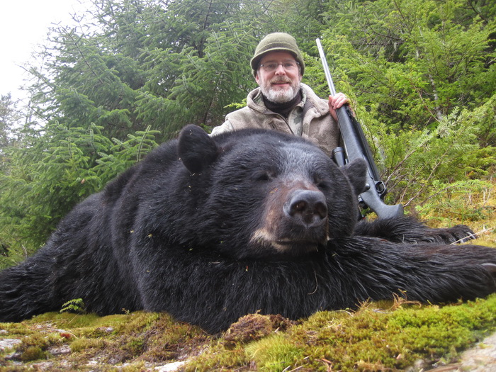 A Bear Hunt Alaska Black Be...