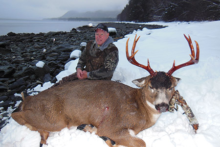 Alaska Sitka Black Tail Deer