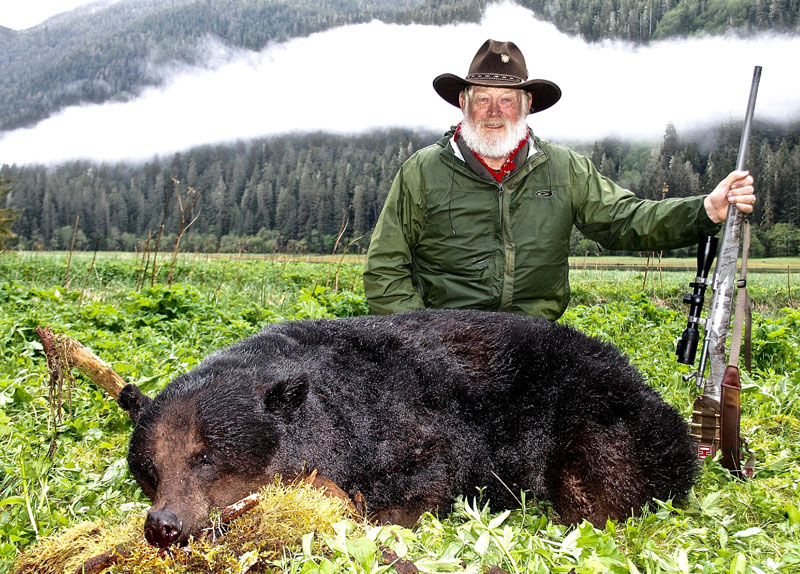 Larry weishuhn Alaska black bear hunt